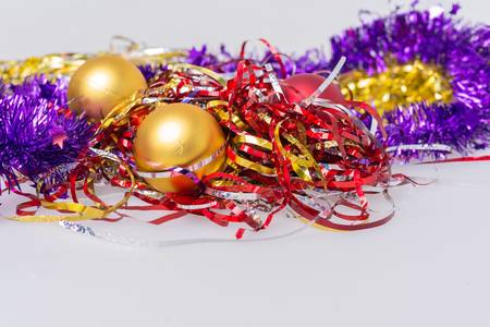 92157794-tinsel-and-glitter-on-the-white-table-for-new-year-holiday