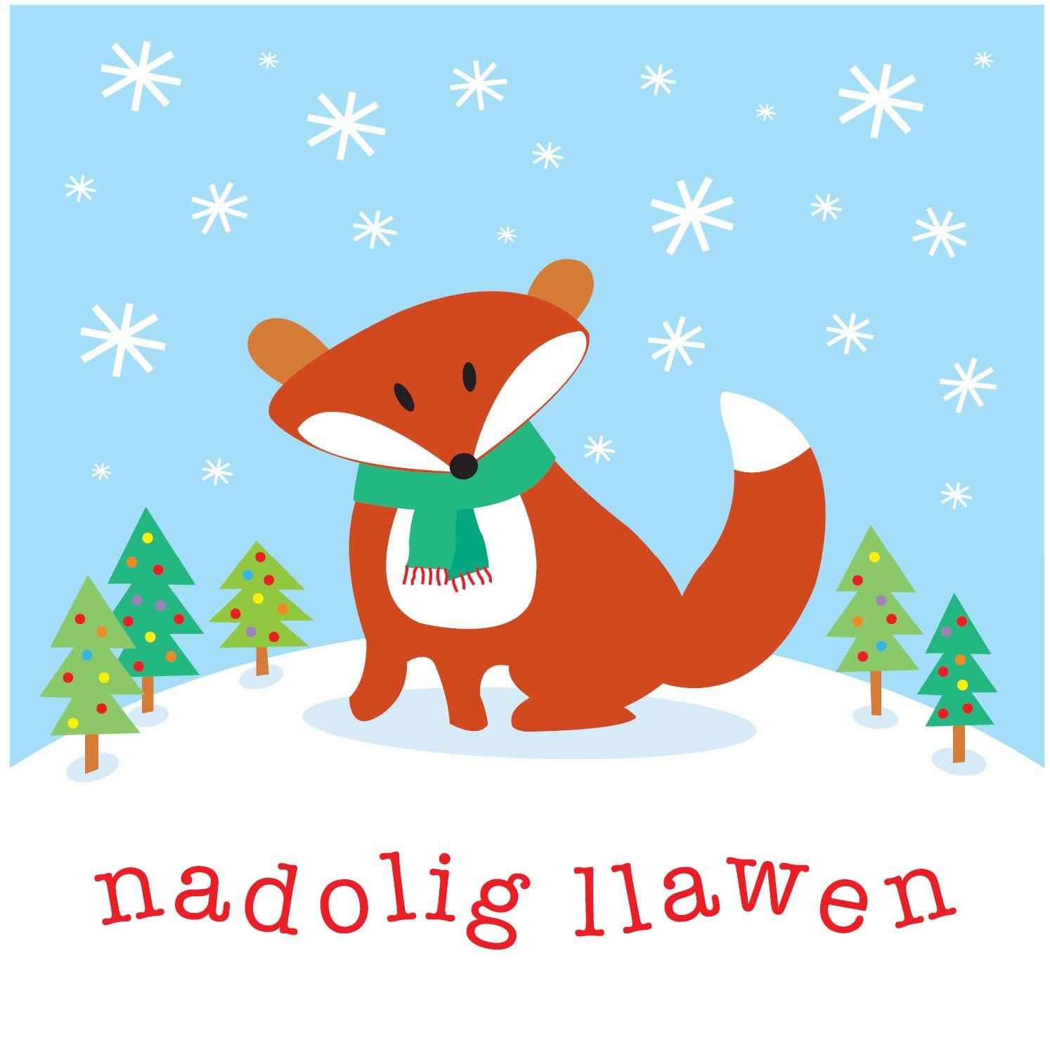 babipur-nadolig-llawen-card-fox